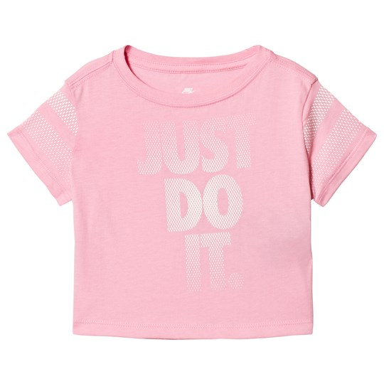 NIKE Pink Just Do It Tee A8F