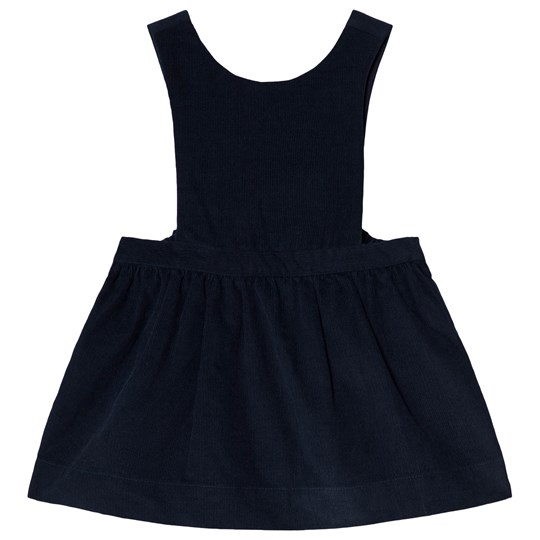 Cyrillus Navy Cord Dress 6399