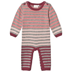 Image of Minymo Knitted One-Piece Maroon 62 cm (2-4 mdr) (3125291435)