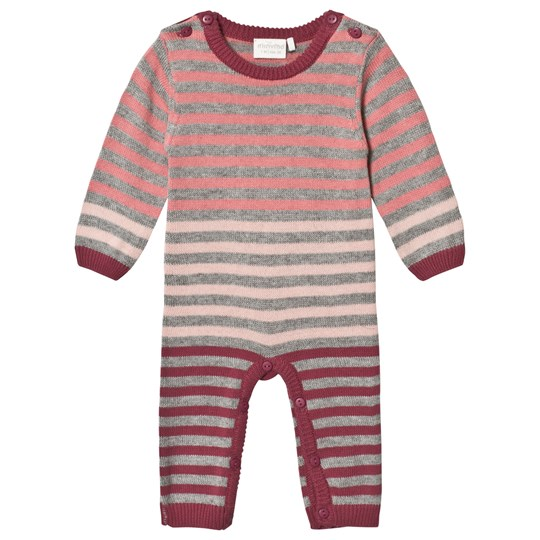 Minymo Knitted One-Piece Maroon MAROON