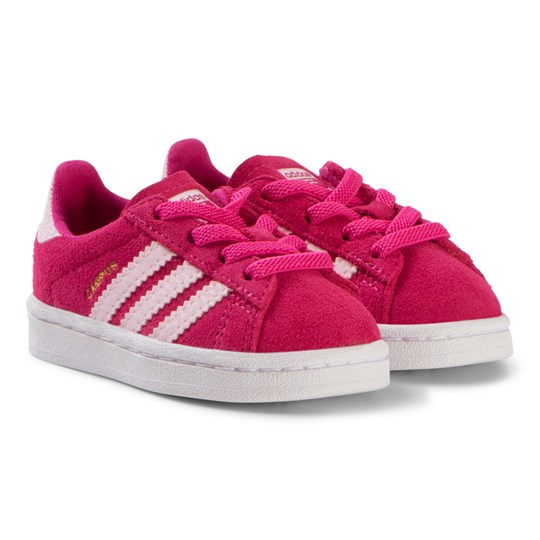 more photos 4119e f818a adidas Originals Pink Campus Sneakers real magenta clear pink clear pink