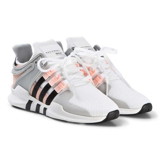 adidas Originals EQT Support ADV Sneakers Vit och Clear ftwr white/core black/clear orange