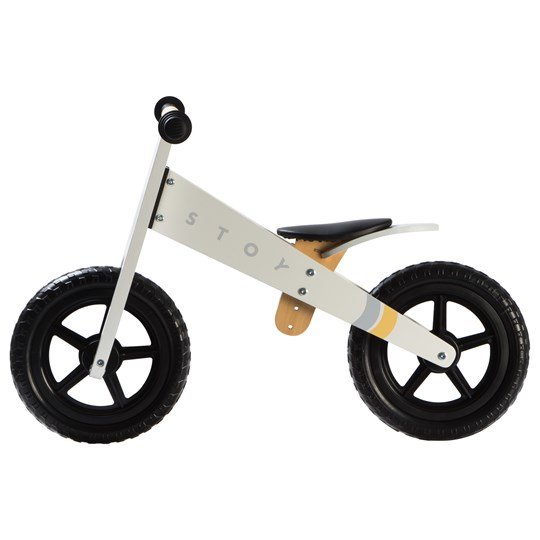 STOY Speed Springcykel Vit White