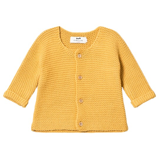 Cyrillus Curry Cardigan with Pockets 6475