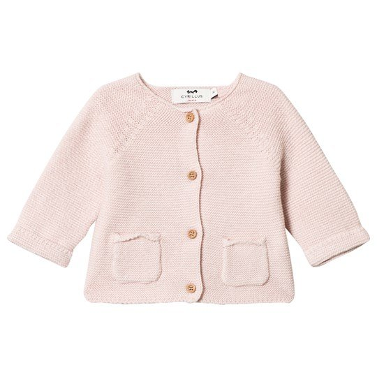 Cyrillus Pink Cardigan with Pockets 6629