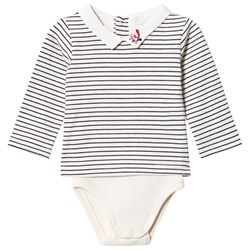 Cyrillus Navy and White Baby Body