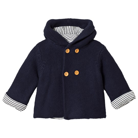 Cyrillus Navy Knitted Jacket 6399