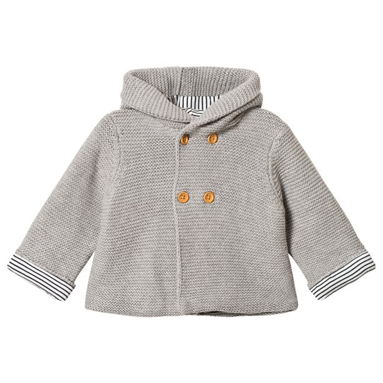Cyrillus Grey Knitted Jacket 6423