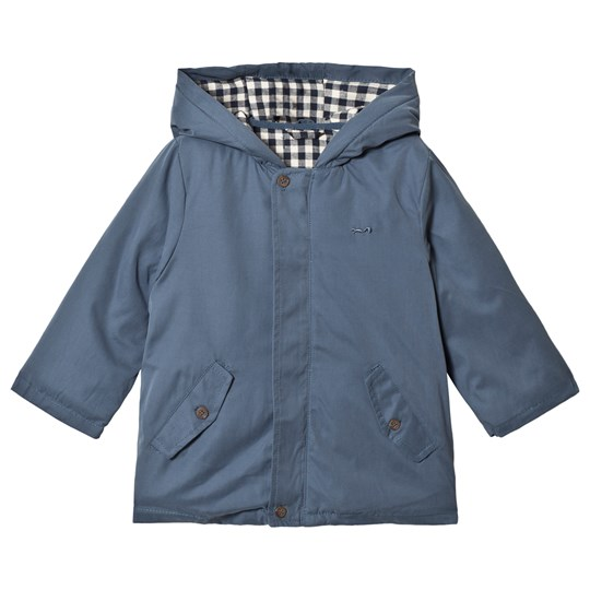 Cyrillus Blue Parka Jacket with Reversible Gilet 6395