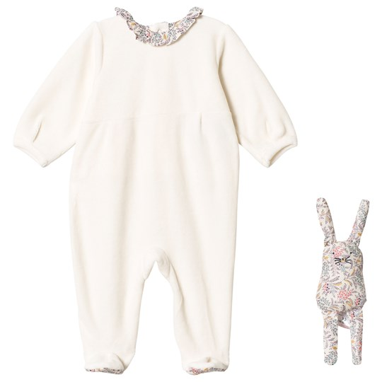 Cyrillus Cream Footed Baby Body and Toy 6369