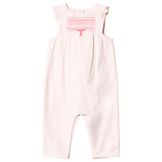 Cyrillus Pink Cord Frill Jumpsuit 6629