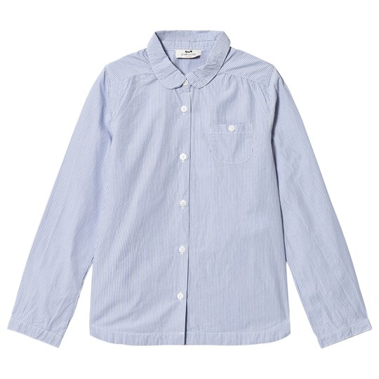 Cyrillus Blue Collar Shirt 6388
