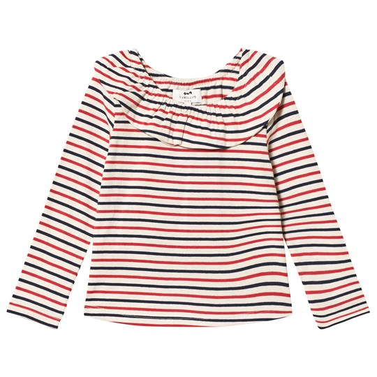 Cyrillus Multi Striped Frill Shirt 6345