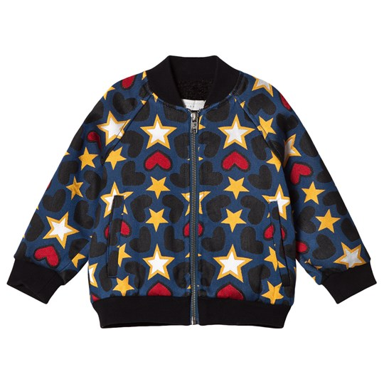 Stella McCartney Kids Multicolored Tapestry Bomber Jacket 4961 - Tapestry Pr