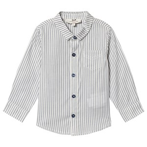 Image of Cyrillus Beige Stripe Detail Shirt 12 months (3125283615)