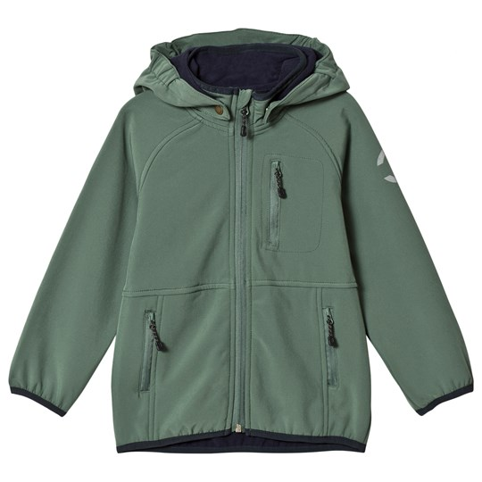 Mikk-Line Soft Shell Jacket Duck Green Duck Green