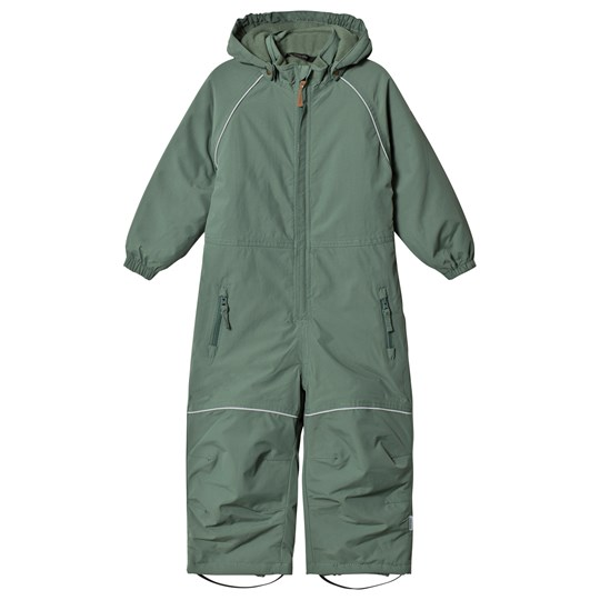 Mikk-Line Junior Solid Snowsuit Duck Green Duck Green