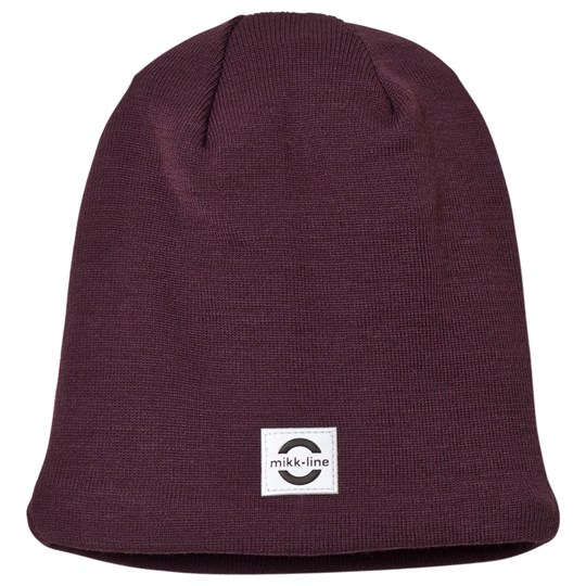 Mikk-Line Wool Hat Fig Fig