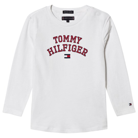 Tommy Hilfiger White Branded Essential T-Shirt 123