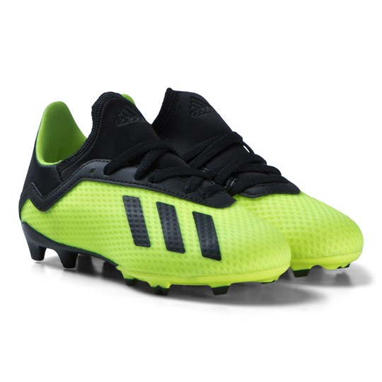 adidas Performance Solar Yellow X 18.3 Firm Ground Soccer Boots solar yellow/core black/solar yellow