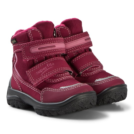 Superfit Red and Pink Snowcat Boots RED/PINK