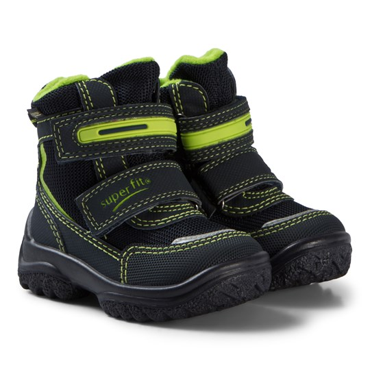 Superfit Blue and Green Snowcat Boots Blue/Green