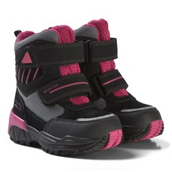 Superfit Black and Pink Culusuk Boots