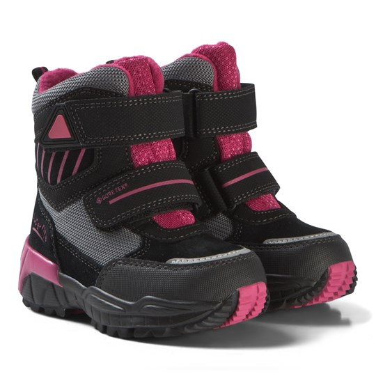Superfit Black and Pink Culusuk Boots Black /Pink