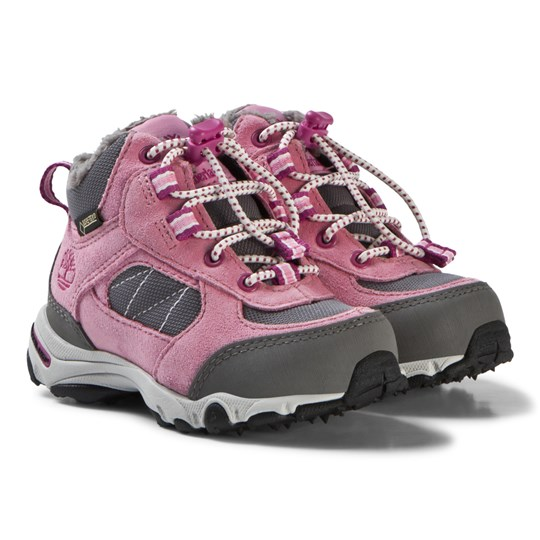 Timberland Prism Pink Ossipee Mid Bungee Boots Prism Pink