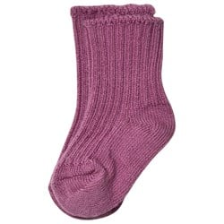 Joha Wool Socks Grape