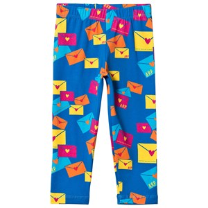 Image of Agatha Ruiz de la Prada Blue Love Letter Print Pants 2 years (3125242739)