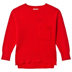 Cyrillus Red Knit Jumper