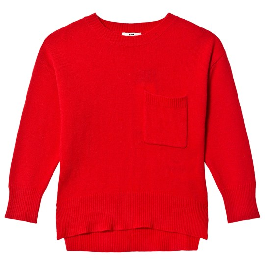 Cyrillus Red Knit Jumper 6729