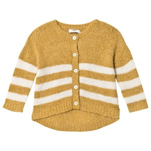 Image of Cyrillus Olive Cardigan with White Stripes 10 years (3125291911)