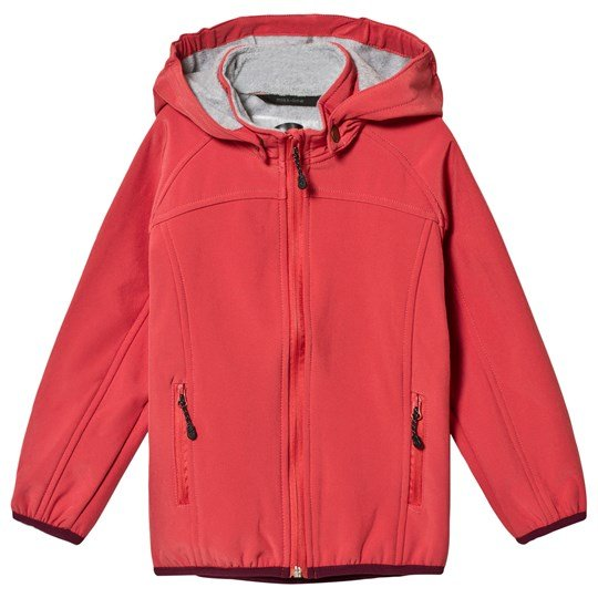 Mikk-Line Soft Shell Jacket Mineral Red Mineral Red