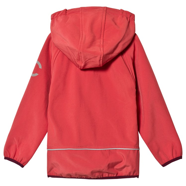 Mikk Line Soft Shell Jacket Mineral Red Babyshop.no