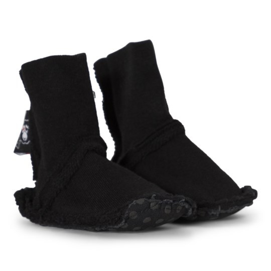 NUNUNU Booties Black Black