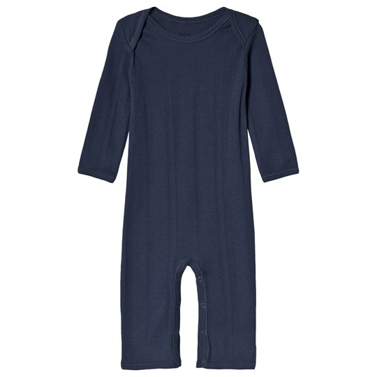 Noa Noa Miniature Jumpsuit Long Sleeve Dress Blue Dress Blue