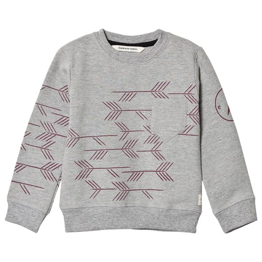 ebbe Kids Grey Melange Bauwie Sweater Dark Grey melange