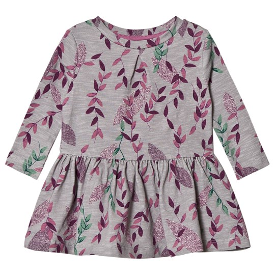 ebbe Kids Grey Simona Climbing Flowers Dress Climbing Flowers