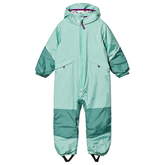 Patagonia Mint Green Baby Snow Pile Snow Suit VJOG
