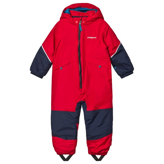 Patagonia Red Baby Snow Pile Snowsuit FRE
