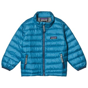 Image of Patagonia Blue Baby Down Shell Jacket 2 years (3125269545)