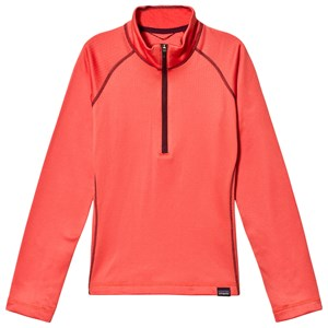 Image of Patagonia Coral Capilene Heavyweight 1/4 Zip Top L (12 years) (1128595)