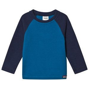 Image of Patagonia Blue Baby Micro D Fleece Top 2 years (3125259111)