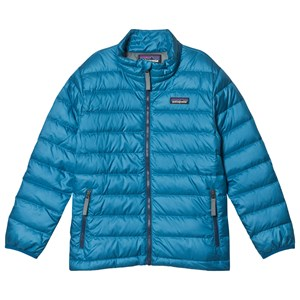 Image of Patagonia Blue Down Padded Jacket L (12 years) (3125279641)