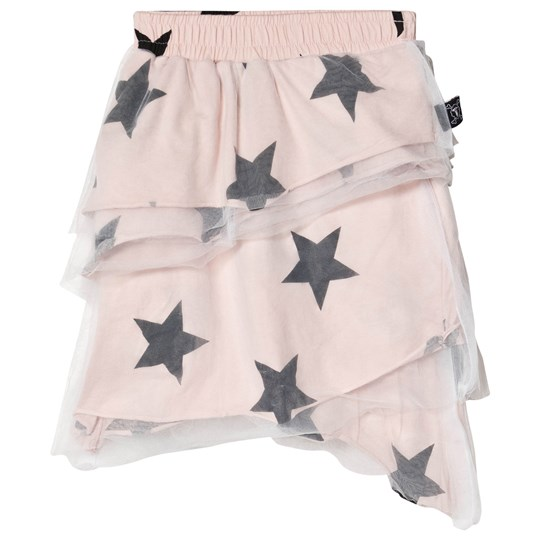 NUNUNU Star Tulle Skirt Powder Pink