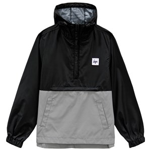 Image of Hype Black and Grey Reflective Sports Jacket 5-6 years (3125272573)