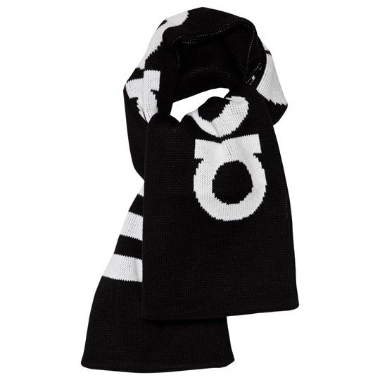 adidas Originals Black Branded Scarf Black
