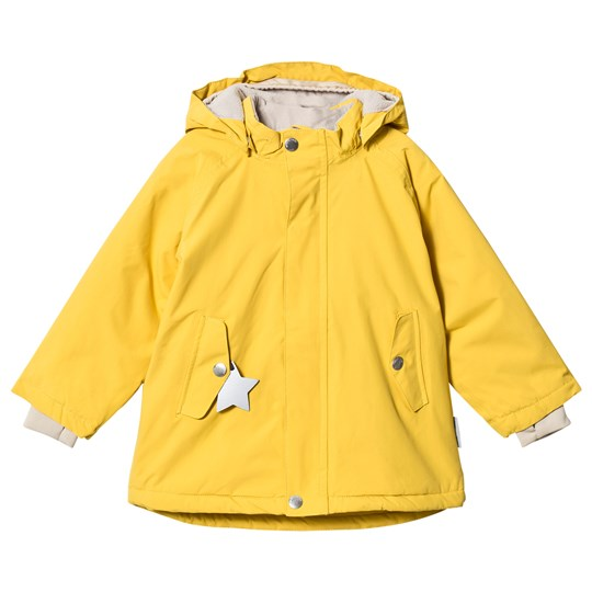 Mini A Ture Wally Jacket Bamboo Yellow Bamboo Yellow